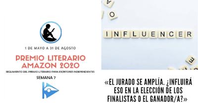banner premio literario amazon 2020 y una pregunta como influira el nuevo jurado en la decision final del premio