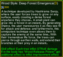 naruto castle defense 6.0 Deep Forest Emergence detail