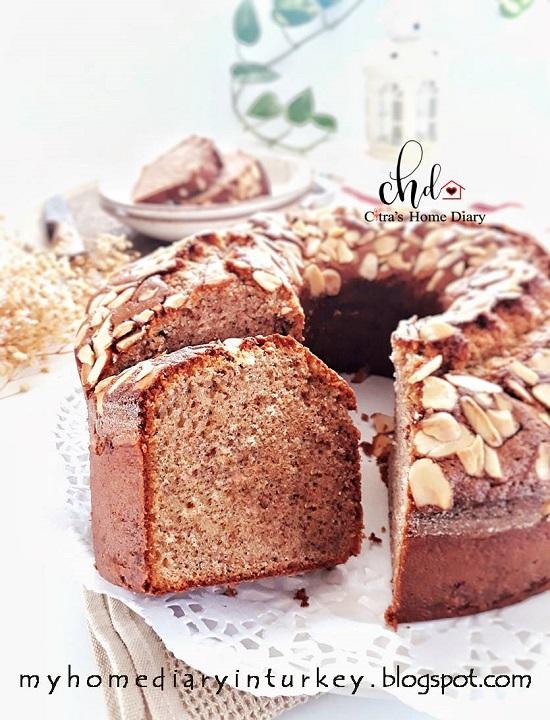 Ontbijtkoek recipe / Dutch Breakfast Cake (peperkoek) | Çitra's Home Diary. #peperkoek #breakfastcake #ontbijtkoekrecipe #resepbumbuspiku #Indonesisch #Indonesiancake #traditionalindonesiansnack #indonesianfoodrecipe  #Indonesischvoedselrecept