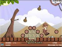 Help Mr. Quick get help from the natives over his plane crash. #PlatformGames #AdventureGames