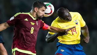 Ecuador vs Venezuela en Eliminatorias CONMEBOL Rusia 2018