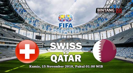 Prediksi Bola Switzerland vs Qatar  15 November 2018