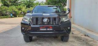 Mobil prado baru black edition 2020