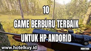 download game berburu offline terbaik untuk hp android