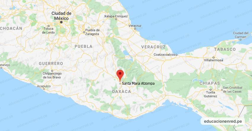 Temblor en México de Magnitud 4.0 (Hoy Martes 02 Febrero 2021) Sismo - Epicentro - Santa María Atzompa - Oaxaca - OAX. - SSN - www.ssn.unam.mx