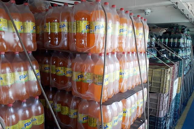 Milhares de garrafas de bebidas são apreendidas em Juruti e Oriximiná