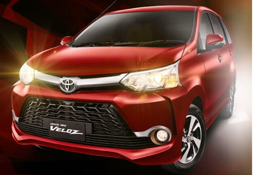 Grand New Toyota Veloz With Futuristic Desig