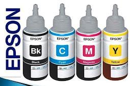 Serial Number / ID Tinta Epson L100, L110, L120, L210 ( 4 Botol Tinta )