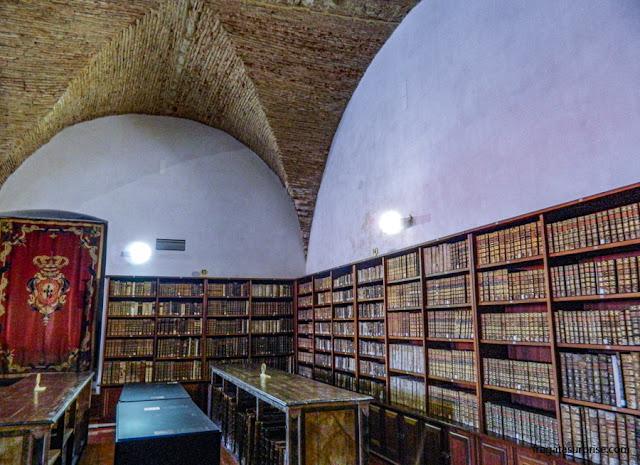 Porão da Biblioteca Joanina da Universidade de Coimbra