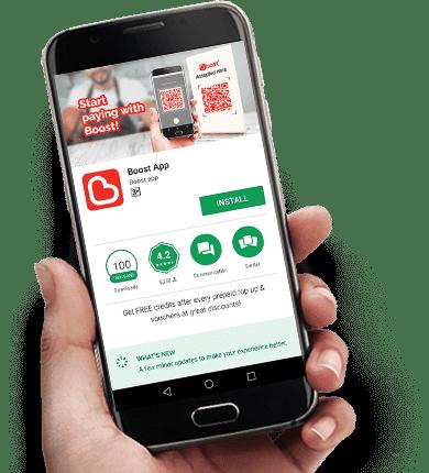 Lebih 50,000 Peniaga Sudah Guna Aplikasi Boost Untuk Urusan Jual Beli