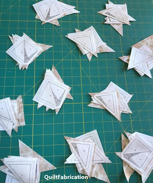 freezer paper piecing