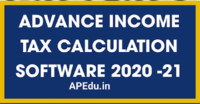 Advance INCOME TAX CALCULATION SOFTWARE 2020 -21 BY K. S. NAIDU