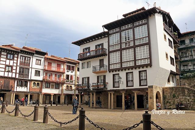 Plaza Guipuzcoa de Hondarribia
