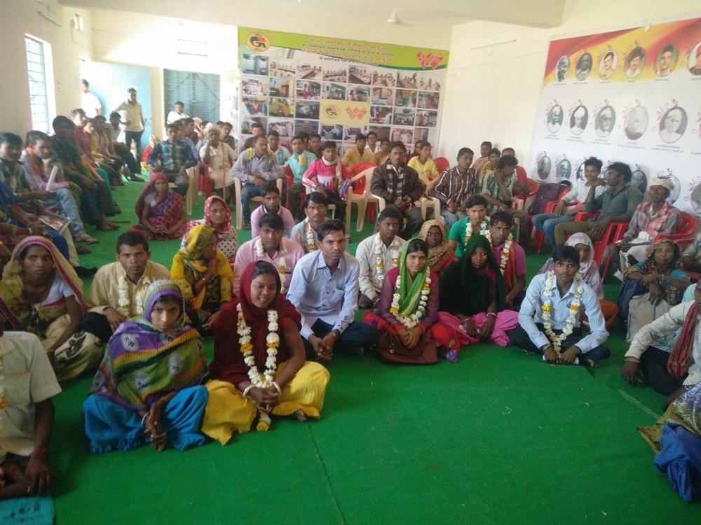 handicaped-marriage-collective-convention-concluded-दिव्यांगजनों हेतु सामूहिक विवाह हेतु परिचय सम्मेलन संपन्न