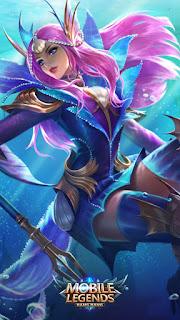Odette Mermaid Princess Heroes Mage of Skins V3