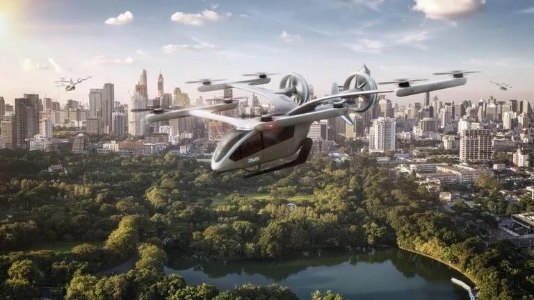 Embraer anuncia pedido de 200 'carros voadores'