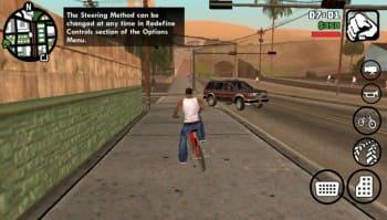 تحميل لعبة GTA San Andreas للاندرويد مهكرة مجانا