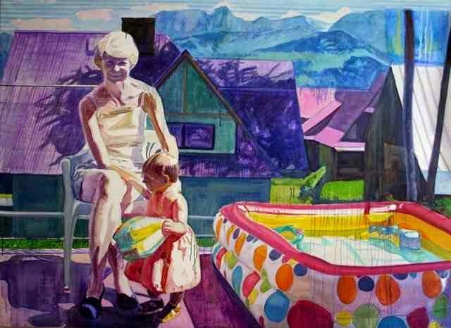 Польский художник. Tomasz Kaniowski