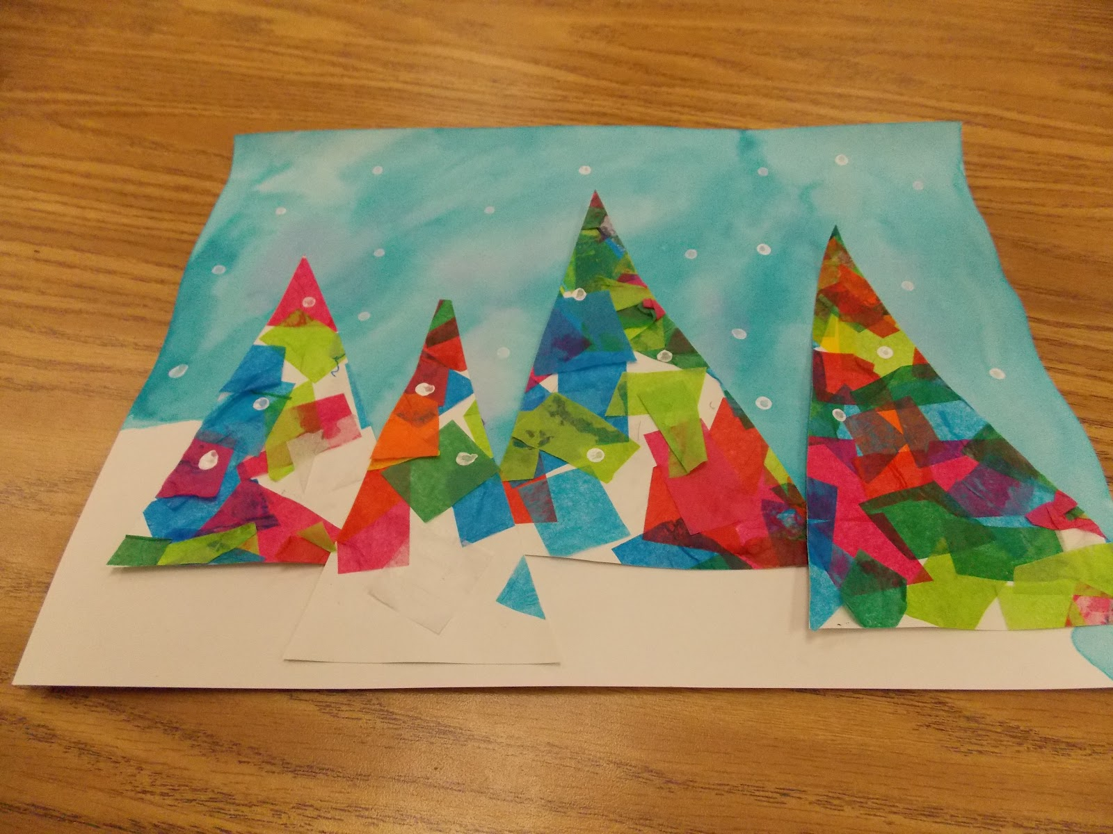 craft ideas for 1st graders a day in grade my new favorite winter craft 6121
