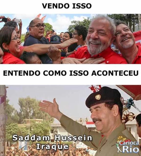 lula Saddam Hussein