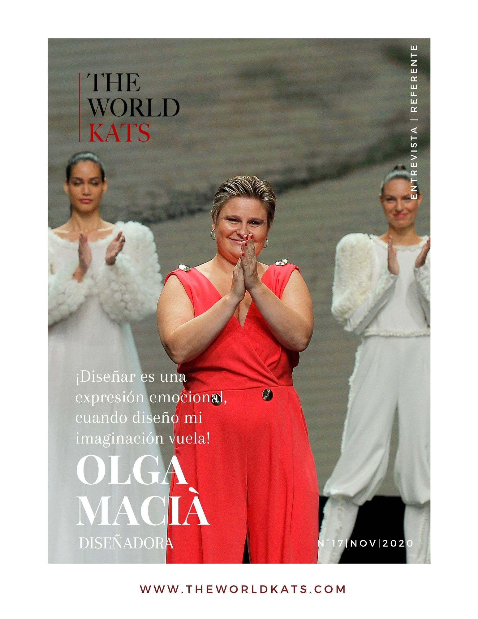 Diseñadora Olga Macià Entrevista