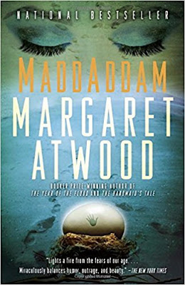 MaddAddam by Margaret Atwood (Book cover)