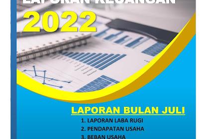 Download Cover Laporan Word Siap Edit Cocok Untuk laporan Keuangan dan Laporan Kegiatan