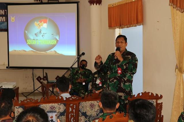 Tim Puspotdirga Adakan Forum Komunikasi Bakti Dirgantara Di Lanud Pangeran M. Bun Yamin.