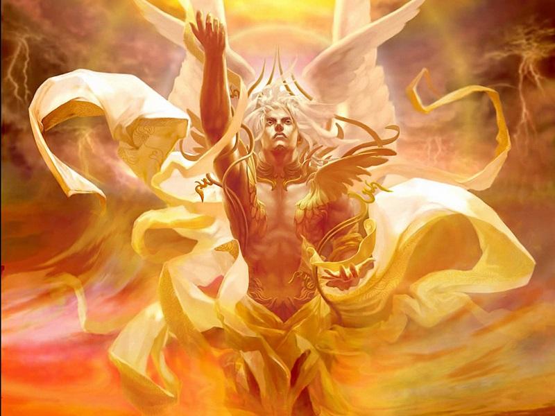 Éter - Deus Primordial Grego do Céu