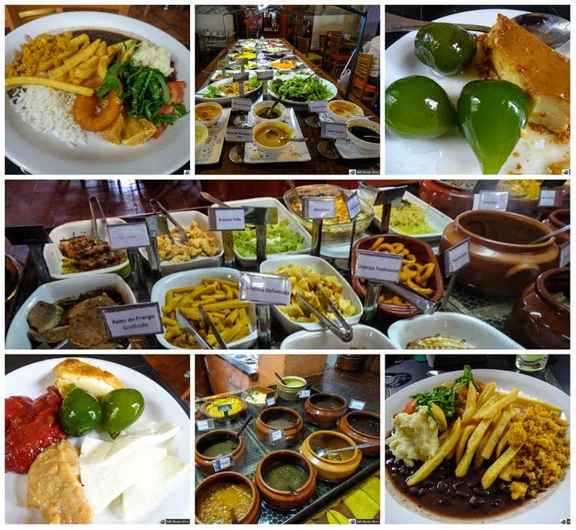 Diário de bordo - Restaurante Barouk Gournet, em Tiradentes, Minas Gerais
