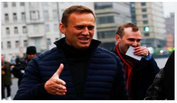 Alexei Navalny: The Kremlin says the CIA works by poisoning Putin