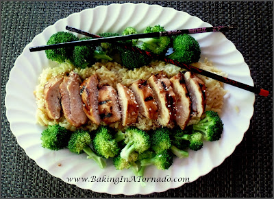 Orange Teriyaki Chicken | www.BakingInATornado.com | #recipe #chicken #dinner