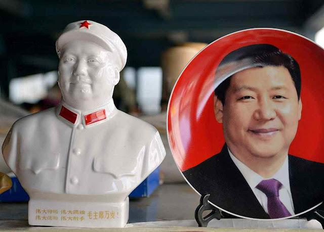 Xi Jinping imita a 'arte de mentir' do fundador do comunismo chinês
