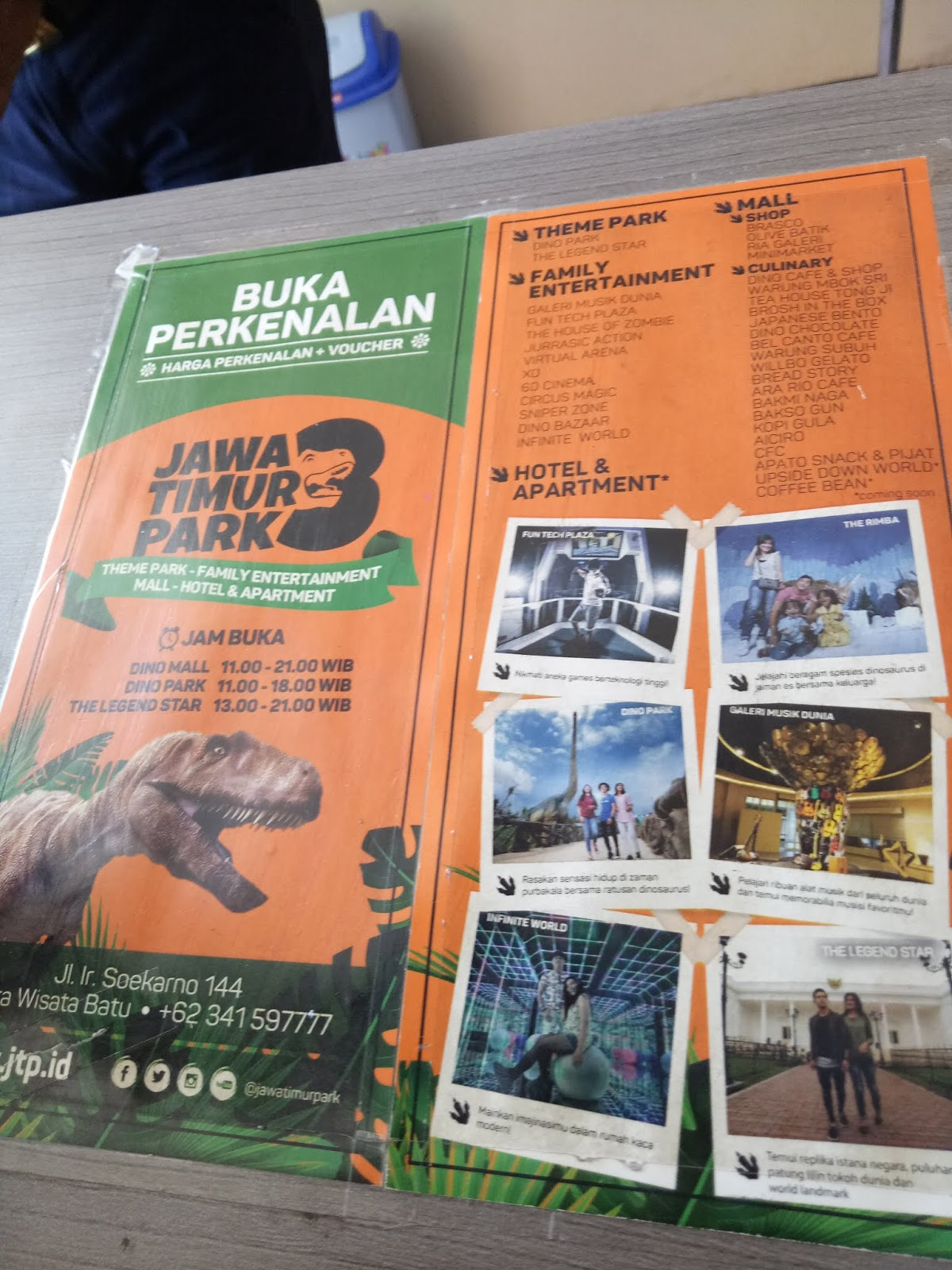 All My Stories Review Jawa Timur Park 3 Dino Park The Legend