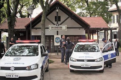 Guarda Civil de Petrópolis (RJ) inaugura posto de policiamento fixo na Praça da Liberdade