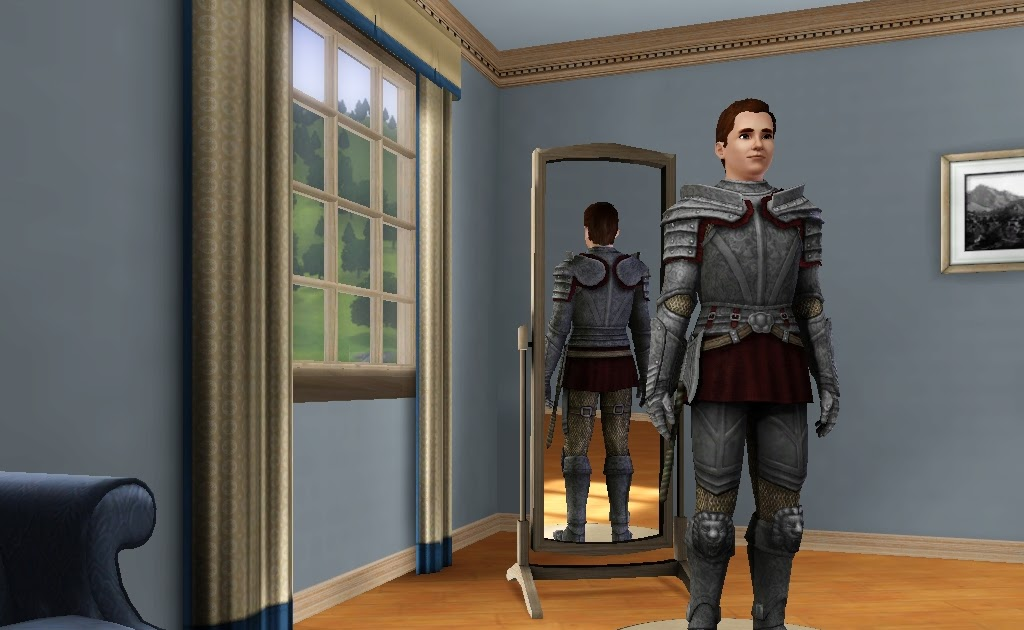 The Sims 3 goes Medieval: Elegant Knight Armor
