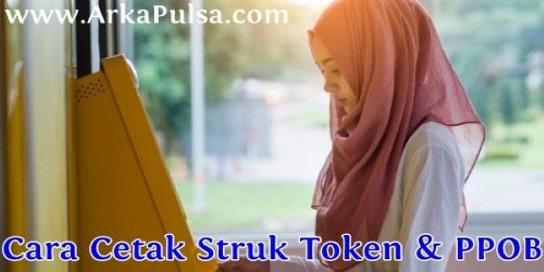 Cara Cetak Struk Pulsa, Token & PPOB Lain di Server Arkana Pulsa CV Sinar Surya Suryandaru Blora