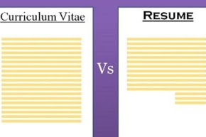 Difference Between CV And Resume – Do You Have One?