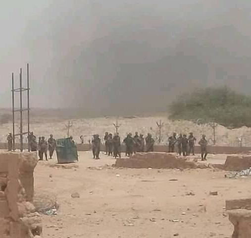 قوات القمع الجزائرية ضد الطوارق