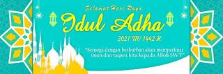 Banner Idul Adha 1442 H/ 2021 M