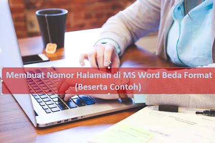 Cara Membuat Halaman Di Word Berbeda Format (PLUS CONTOH)