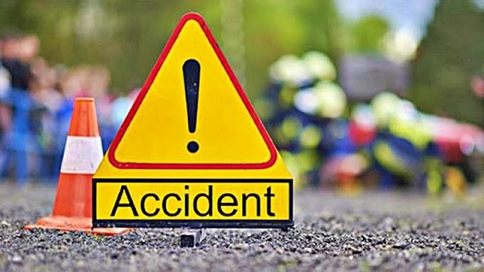 Accident cu doi răniți provocat de un tânăr care a intrat cu mașina pe contrasens