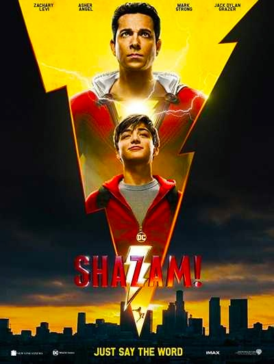 Shazam 2019 Hindi Dual Audio HDCAM-Rip 480p 350MB 720p 1GB