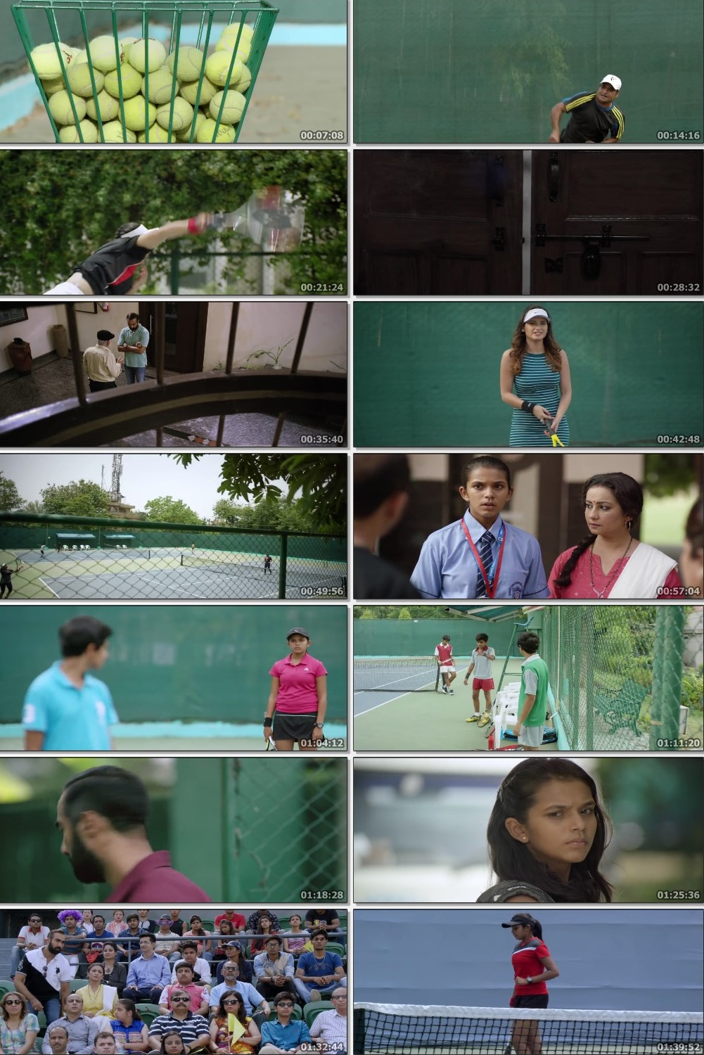 Screen Shot Of Tennis Buddies 2019 Full Movie Free Download HD 720P Watch Online