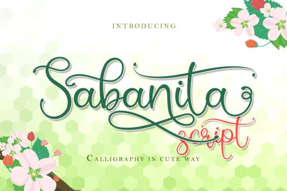 Sabanita Font