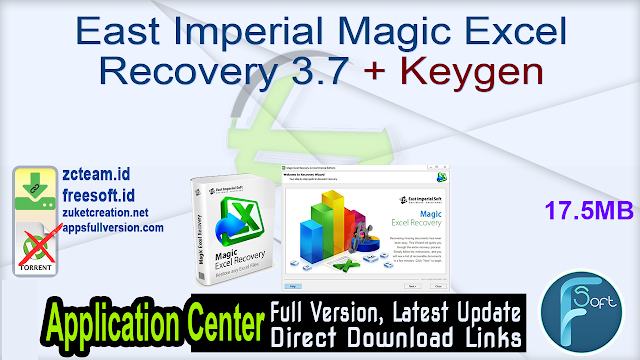 East Imperial Magic Excel Recovery 3.7 + Keygen_ ZcTeam.id