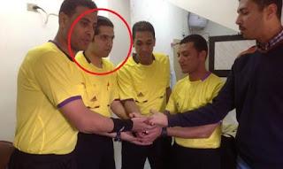احمد الغندور حكمًا لمباراة الاهلي والداخلية في كاس مصر
