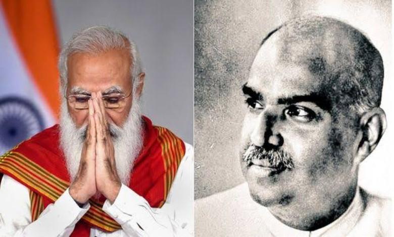 On Shyamaprasad Mukherjee's birthday, Prime Minister Modi paid his respects