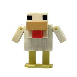 Minecraft Chicken Overworld Figures