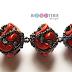 Beaded Bead Tutorial Uses Arcos par Puca Beads